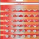 Baterii buton alcaline 6*AG1 + 6*AG3 + 6*AG4 + 6*AG5 + 6*AG12 + 6*AG13