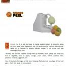 Aparat de curatat coaja fructe sau legume
