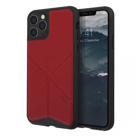 Гръб UNIQ Transforma - iPhone 11 Pro червен