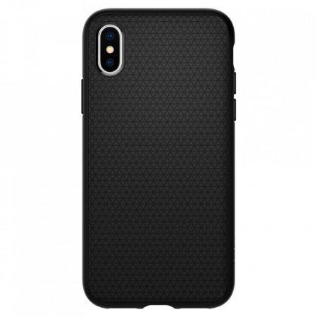 Оригинален гръб Spigen Liquid Air - iPhone X / XS черен мат