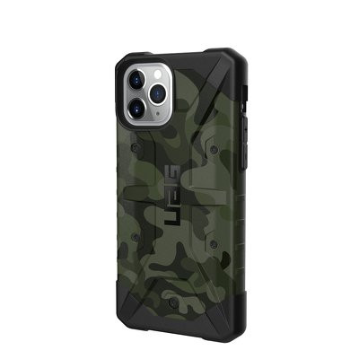 Гръб UAG Pathfinder - iPhone 11 Pro зелен камуфлаж