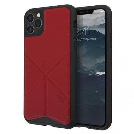 Гръб UNIQ Transforma - iPhone 11 Pro Max червен