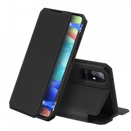 Калъф тип книга DUX DUCIS Skin X - Samsung Galaxy A71 5G черен