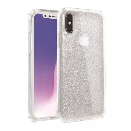 Гръб UNIQ Clarion Tinsel - iPhone XS Max прозрачен