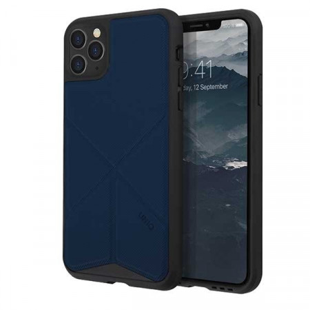 Гръб UNIQ Transforma - iPhone 11 Pro Max тъмносин