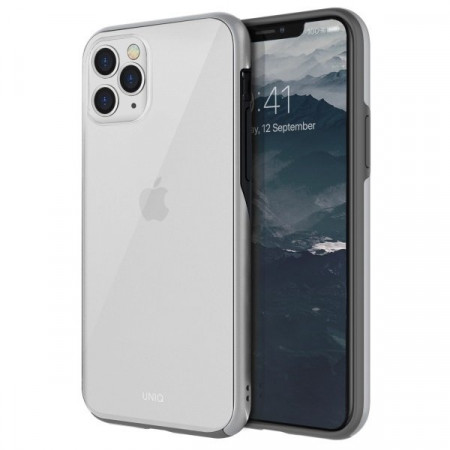 Гръб UNIQ Vesto Hue - iPhone 11 Pro Max сребърен