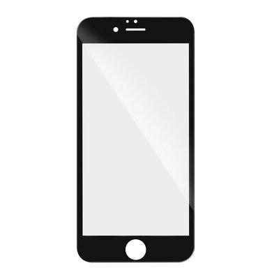 5D Full Glue закален стъклен протектор - iPhone X / XS / 11 Pro черен