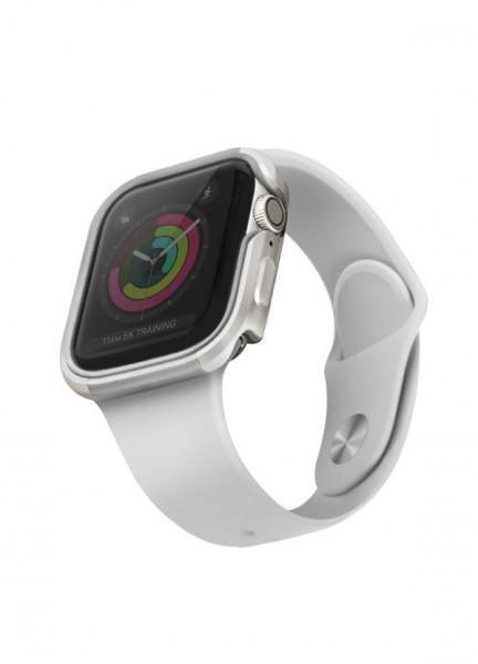 Рамка UNIQ Valencia - Apple Watch 4 / 5 40mm сребърен