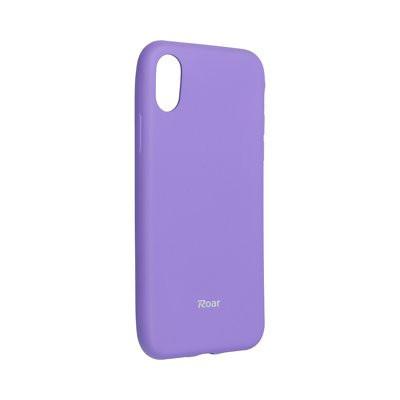 Силиконов гръб ROAR Colorful Jelly - iPhone X / XS лилав