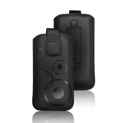 Калъф тип джоб FORCELL Deko - iPhone6 Plus / 7 Plus / 8 Plus / XS Max / 11 Pro Max / - Samsung Galaxy S10 Plus / A10 / A30s / A50 черен