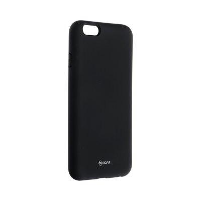 Силиконов гръб ROAR Colorful Jelly - iPhone 6 / 6s черен