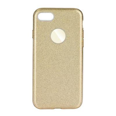 Силиконов гръб FORCELL Shining - iPhone 7 / 8 златист