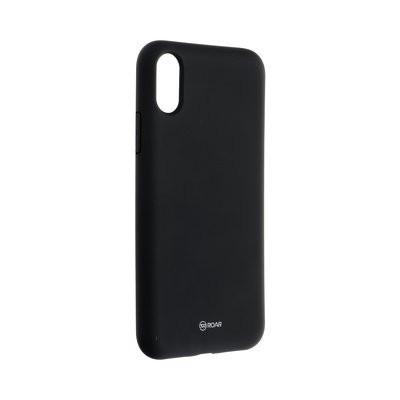 Силиконов гръб ROAR Colorful Jelly - iPhone X / XS черен