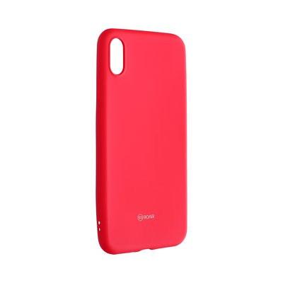 Силиконов гръб ROAR Colorful Jelly - iPhone XS Max циклама