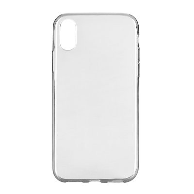 Ултратънък силиконов гръб 0.3mm - iPhone X прозрачен