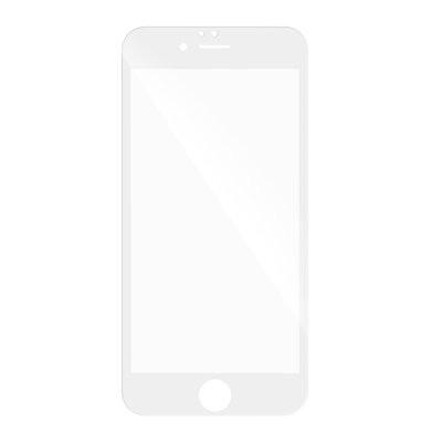 5D Full Glue закален стъклен протектор - iPhone 6 Plus / 6s Plus бял
