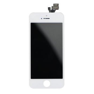 LCD екран - iPhone 5 с дигитайзер бял (Tianma AAA)