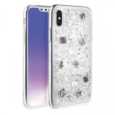 Гръб UNIQ Lumence Clear - iPhone XS Max сребърен