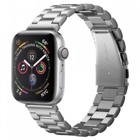 Каишка Spigen Modern Fit - Apple Watch 1 / 2 / 3 / 4 42/44mm сребърен