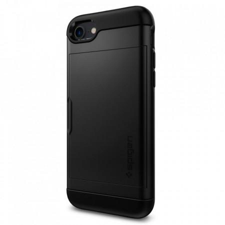 Гръб Spigen Slim Armor Cs - iPhone 7 / 8 черен