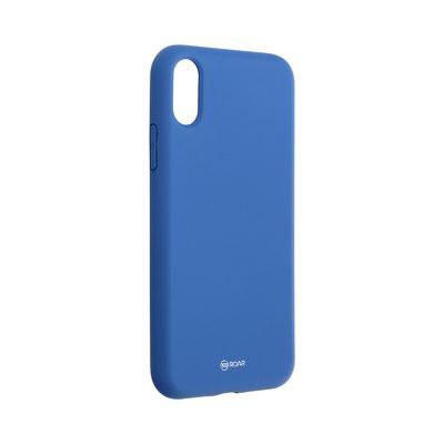 Силиконов гръб ROAR Colorful Jelly - iPhone X / XS тъмносин