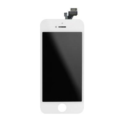 LCD екран - iPhone 5 с дигитайзер бял HQ