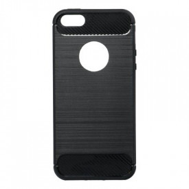 Гръб FORCELL Carbon - iPhone 5 / 5s / SE черен