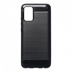 Гръб FORCELL Carbon - Samsung Galaxy A02s черен