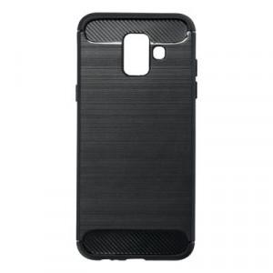 Гръб FORCELL Carbon - Samsung Galaxy A6 черен