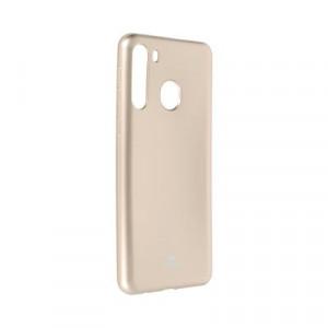 Гръб Jelly Mercury - Samsung Galaxy A21 златист