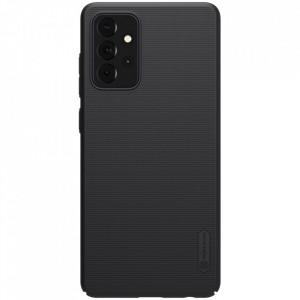 Гръб Nillkin Super Frosted Shield + стойка - Samsung Galaxy A72/A72 5G черен