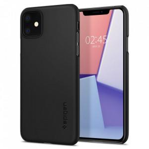 Гръб Spigen Thin Fit - iPhone 11 черен