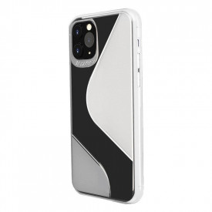 Гъвкав силиконов гръб S-Case - Huawei P40 Lite E прозрачен