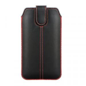 Калъф тип джоб FORCELL Porcket Ultra Slim M4 - iPhone 6 Plus / 7 Plus / 8 Plus / XS Max / 11 Pro Max / Samsung Galaxy S10 Plus / A10 / A30s / A50 черен
