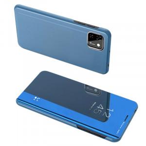 Калъф тип книга Clear View (активен капак) - Huawei Y5p син
