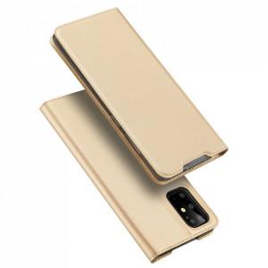 Калъф тип книга DUX DUCIS Skin Pro - Samsung Galaxy S20 Plus златен
