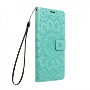 Калъф тип книга Forcell MEZZO - Samsung Galaxy A72 / A72 5G мандала / зелен