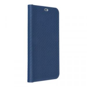 Калъф тип книга Luna Carbon - iPhone 11 Pro 2019 син