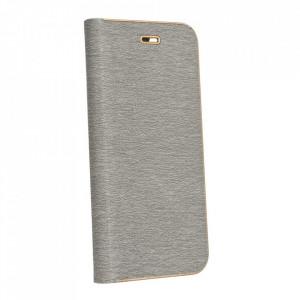 Калъф тип книга Luna - Samsung Galaxy S21 Plus сив