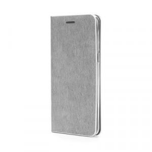 Калъф тип книга Luna Silver - iPhone 11 Pro Max 2019 сребрист
