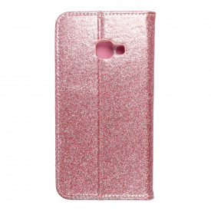 Калъф тип книга Shining - Samsung Galaxy Xcover 4 розово злато