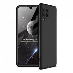 Калъф 360° GKK Full Body Cover (без стъкло) - Samsung Galaxy A42 5G черен