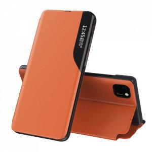 Кожен калъф тип книга ECO - Huawei Y5p оранжев