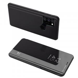 Огледален калъф тип книга Clear View - Samsung Galaxy A12/A12s черен