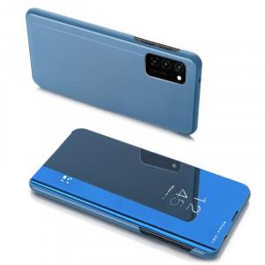 Огледален калъф тип книга Clear View - Samsung Galaxy Note 20 син