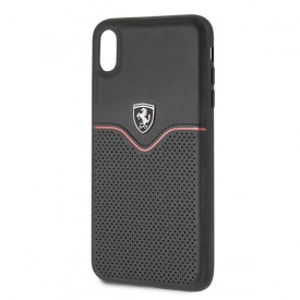 Оригинален твърд гръб Ferrari Off Track Victory FEOVEHCI65BK - iPhone XS Max черен