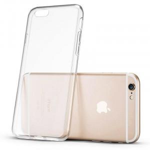 Прозрачен силиконов гръб 0.5mm - iPhone XR