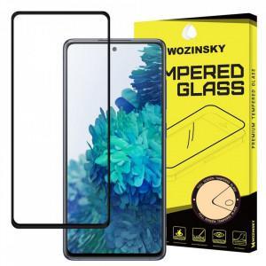 Протектор с пълно покритие и рамка WOZINSKY съвместим с гръб - Samsung Galaxy A72/A72 5G черен