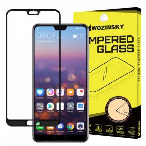 Протектор с пълно покритие и рамка WOZINSKY - Huawei P20 Pro черен
