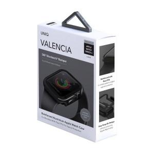 Рамка UNIQ Valencia - Apple Watch 4 / 5 44mm бронзово сив